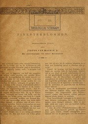 Cover of: Pinksterblommen