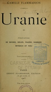 Cover of: Uranie