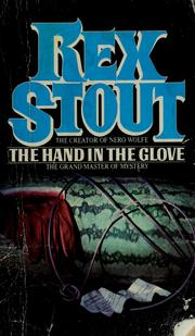 Cover of: The hand in the glove: A Dol Bonner Mystery