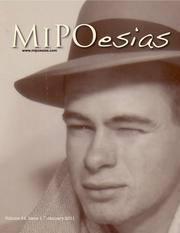 Cover of: MiPOesias (Vol 24, Issue 1)