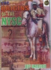 Cover of: Origins of the NYSC (National Youth Service Corps) of Nigeria