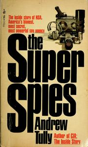 Cover of: The super spies