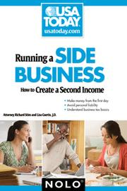 Cover of: Running a side business