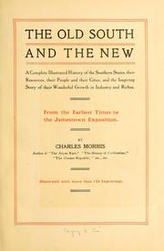 Cover of: The old South and the new