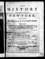 Cover of: History of New-York from the first discovery to the year M.DCC. XXXII