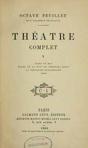 Cover of: Theatre complet. --