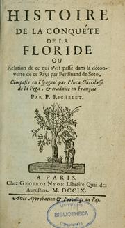 Cover of: La Florida del Inca