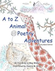 Cover of: A to Z Animal Poetry Adventures (Activity Book Edition)