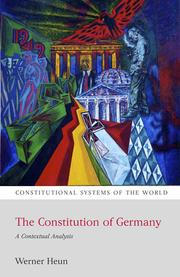 Cover of: The Constitution of Germany