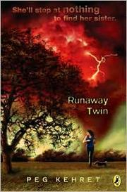 Cover of: Runaway twin