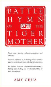 Cover of: Battle hymn of the tiger mother