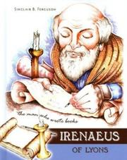 Cover of: Irenaeus of Lyons