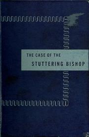 Cover of: The case of the stuttering bishop