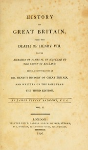 Cover of: History of Great Britain