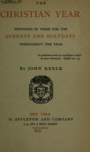 Cover of: The Christian year