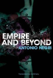 Cover of: Empire and Beyond