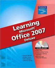 Cover of: Learning Microsoft Office 2007 Deluxe