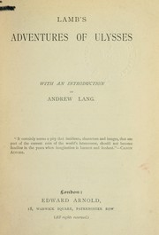 Cover of: The adventures of Ulysses