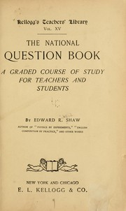 Cover of: The national question book