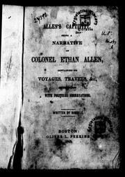Cover of: Allen's captivity