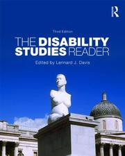 Cover of: The Disability Studies Reader