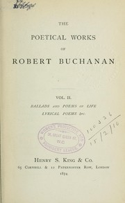 Cover of: Poetical works