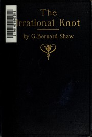 Cover of: The irrational knot