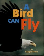 Cover of: A bird can fly