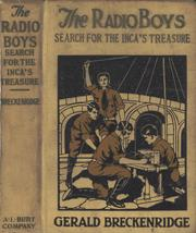 Cover of: The Radio Boys' Search for the Inca's Treasure