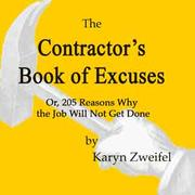 Cover of: The Contractor's Book of Excuses