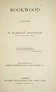 Cover of: Rookwood