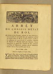 Cover of: Arrêt