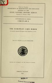 Cover of: The European corn borer
