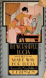 Cover of: The worshipful Lucia