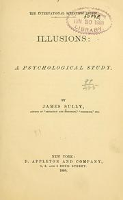 Cover of: Illusions