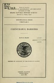 Cover of: Chinch-bug barriers