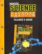 Cover of: Physical Science Daybook