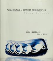 Cover of: Fundamentals of graphics communication