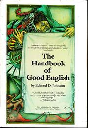 Cover of: The Washington Square Press handbook of good English