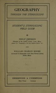 Cover of: Geography through the stereoscope