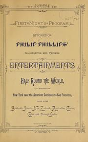 Cover of: Descriptive guide to Philip Phillips' illuminated tours and illustrated songs