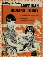 Cover of: Getting to know American Indians today