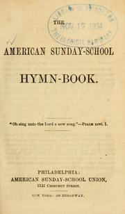 Cover of: American Sunday-school hymn-book
