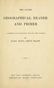 Cover of: The Guyot geographical reader and primer