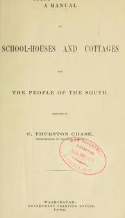 Cover of: A manual on school-houses and cottages for the people of the South