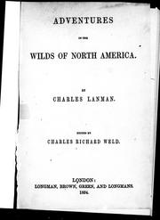 Cover of: Adventures in the wilds of North America
