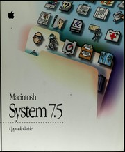 Cover of: Macintosh System 7.5