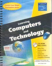 Cover of: Learning Computers and Technology