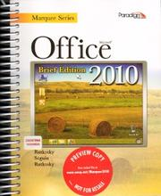 Cover of: Microsoft Office 2010
