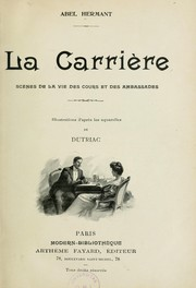 Cover of: La carrière
